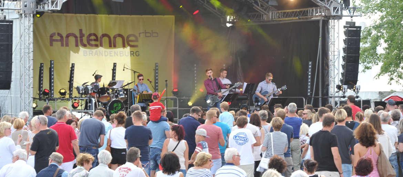Senftenberger Hafenfest ist Sprungbrett für den musikalischen Nachwuchs