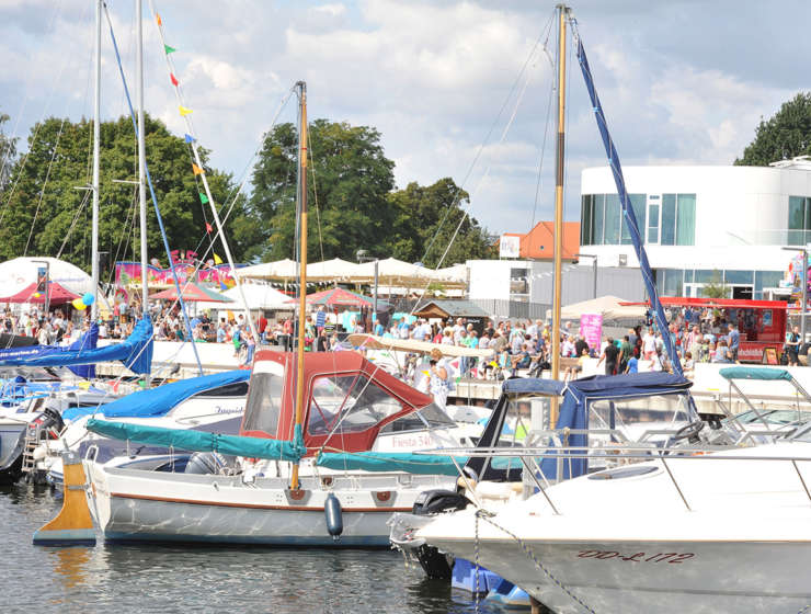 """""""Auf die Momente"""" – Das 7. Senftenberger Hafenfest am Stadthafen mit großen Emotionen"""